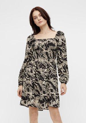 OBJTALUSA DRESS - Day dress - black/sandshell