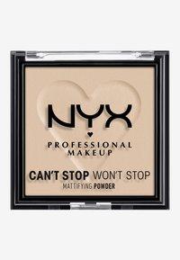 Nyx Professional Makeup - CAN'T STOP WON'T STOP MATTIFYING POWDER - Poudre - 04 medium - 1
