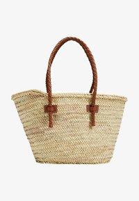 Mango - OVALO - Handtasche - mellanbrun - 0