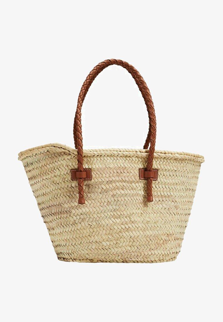 Mango - OVALO - Handtasche - mellanbrun