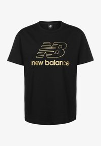 New Balance - ATHLETICS PODIUM - Print T-shirt - black - 0