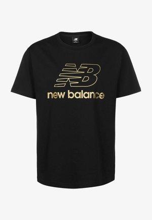 ATHLETICS PODIUM - Print T-shirt - black