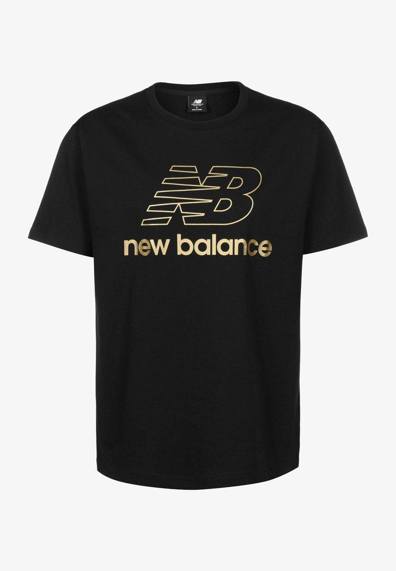 New Balance - ATHLETICS PODIUM - Print T-shirt - black
