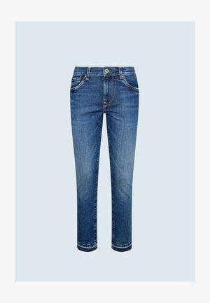 VICTORIA - Slim fit jeans - blue denim