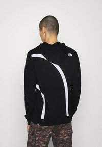 The North Face - OVERSIZE LOGO HOODIE - Hoodie - black/white - 2