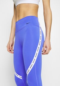 Nike Performance - ONE CROP - Leggings - sapphire/white/black - 3