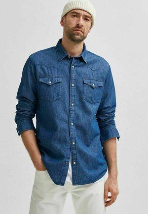 Camicia - dark blue denim