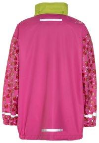 Playshoes - Waterproof jacket - pink - 2