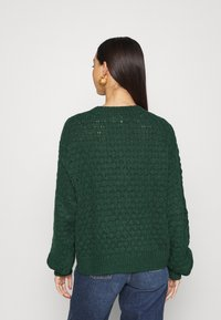 Monki - NINNI CARDIGAN - Cardigan - green - 2
