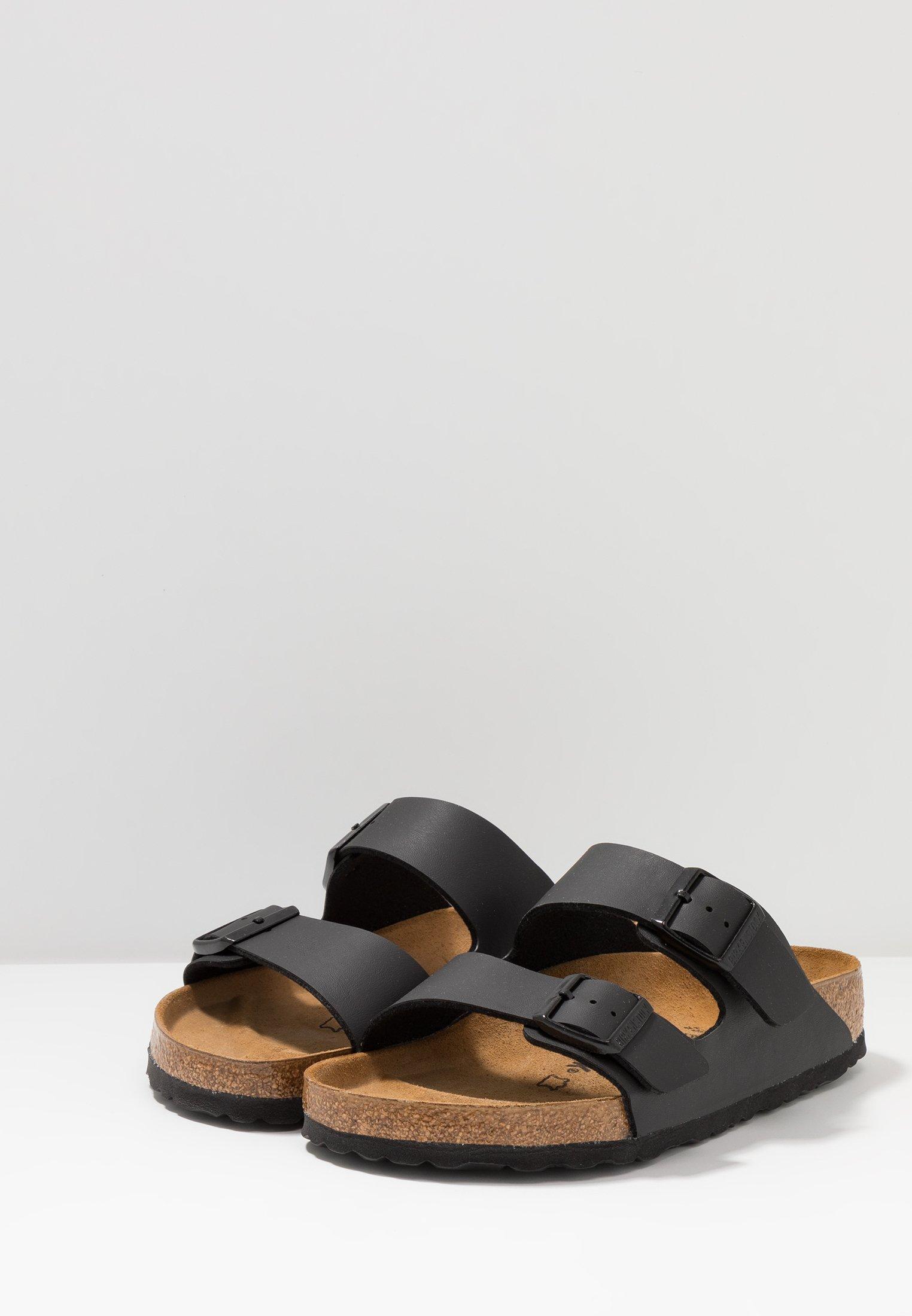 Venta al por mayor Birkenstock ARIZONA - Sandalias planas - black | Zapatillas de hombre 2020 TofmV