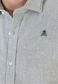 Scalpers - SLIM FIT OXFORD - Shirt - khaki - 3