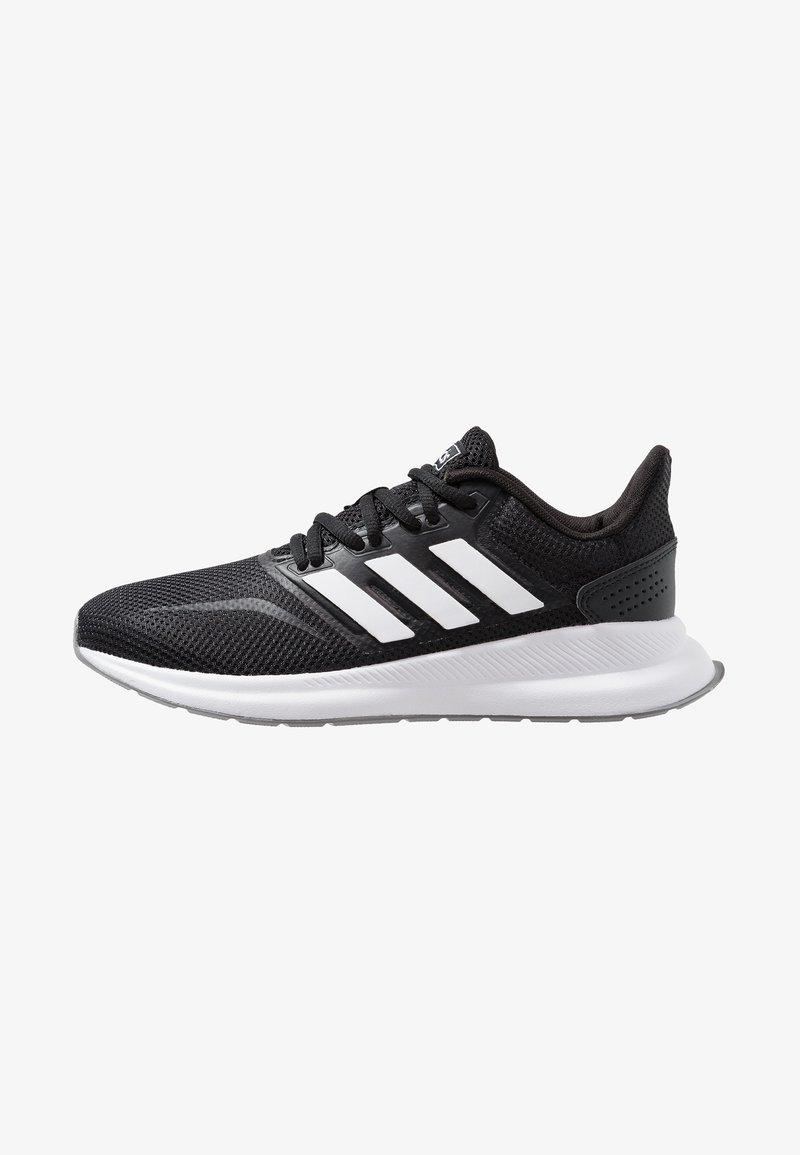 adidas Performance - RUNFALCON - Juoksukenkä/neutraalit - core black/footwear white/grey three