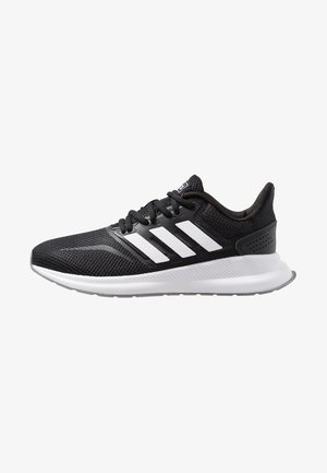 RUNFALCON - Neutrala löparskor - core black/footwear white/grey three