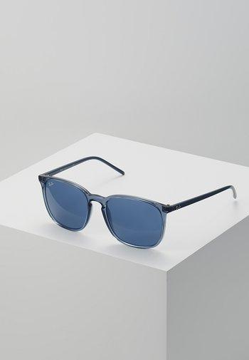 Sunglasses - trasparent blue