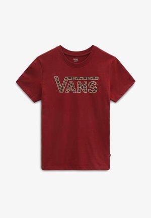 WM ANIMAL V - Print T-shirt - pomegranate