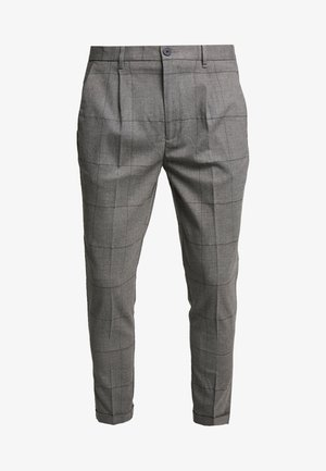 PANTALONE SLIM FIT - Trousers - grigio