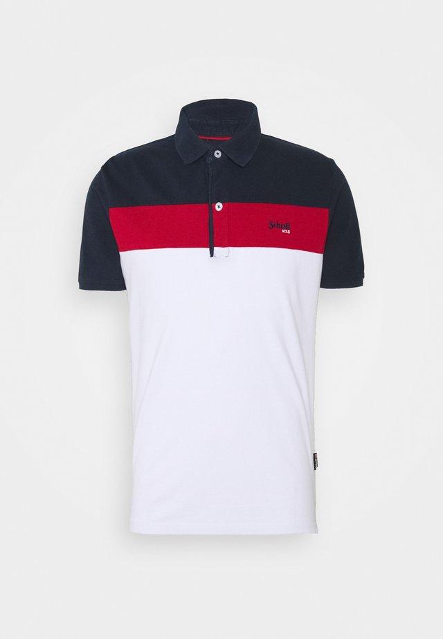 Pikeepaita - navy/red/white