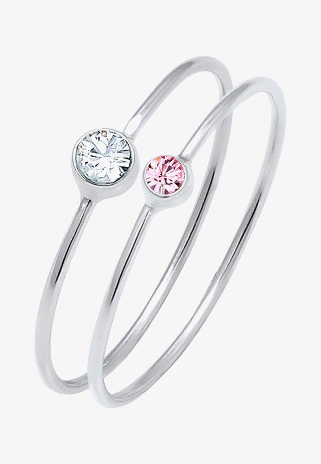 2 PACK - Ring - rosa