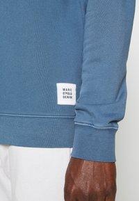 Marc O'Polo DENIM - LONG SLEEVE HOOD - Sweatshirt - grayish petrol - 3