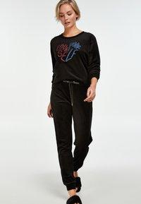 Hunkemöller - Pyjamabroek - black - 1