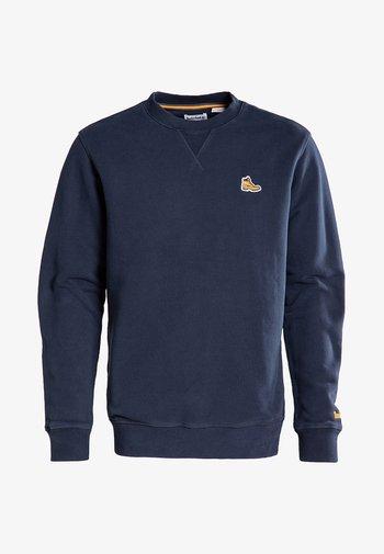 BOOT LOGO CREW NECK - Sweatshirt - dark sapphire