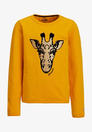 Sweatshirt - yellow