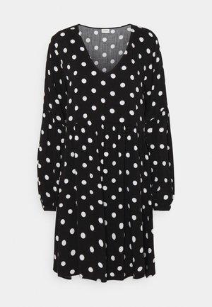 JDYKATE LIFE DRESS - Kjole - black/white