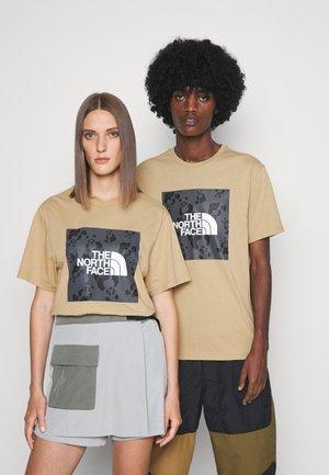 RENEWED PANDA TEE UNISEX - T-shirt con stampa - hawthorne khaki