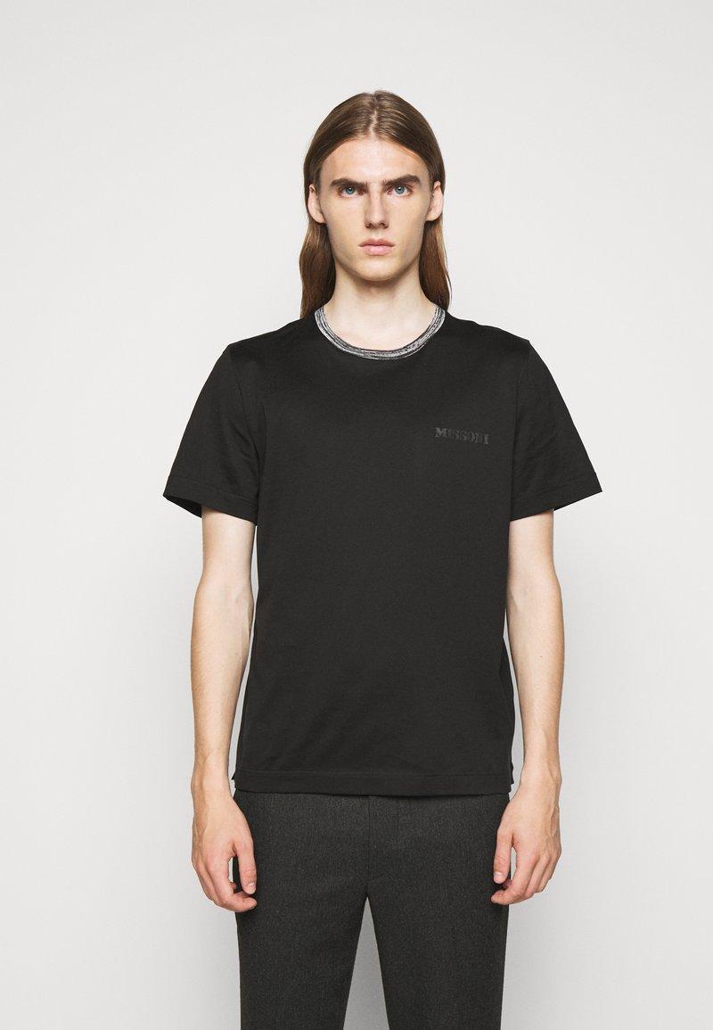 Missoni - SHORT SLEEVE  - Jednoduché triko - black