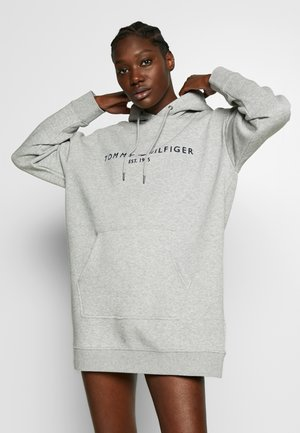 HOODED DRESS - Robe d'été - light grey heather
