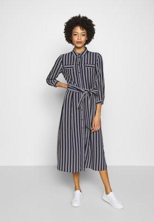 DRESS LONG - Košilové šaty - marine