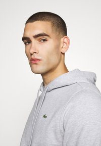 Lacoste Sport - CLASSIC HOODIE - Hoodie - silver chine/elephant grey - 3