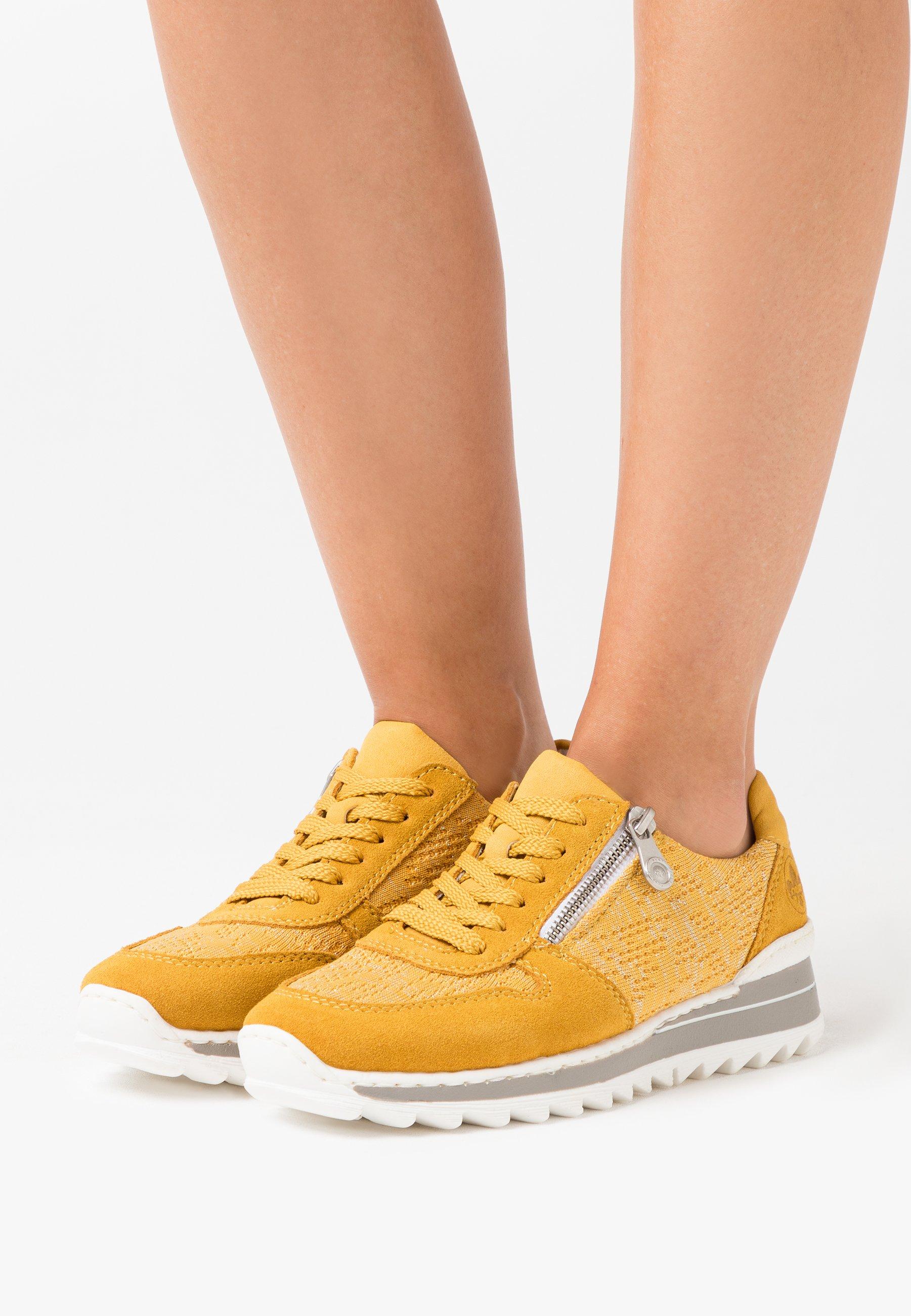 Sneaker low maisgelbsilber