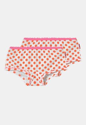 GIRLS HIPSTER POLKA DOTS 2 PACK - Slip - orange