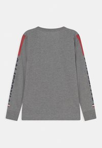 Levi's® - LONG SLEEVE GRAPHIC  - Pitkähihainen paita - dark grey heather - 1