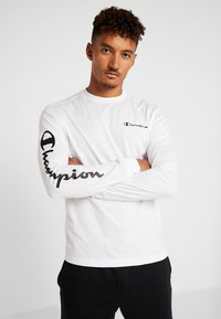 Champion - LONG SLEEVE - Langærmede T-shirts - white - 0