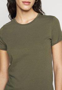 ONLY Tall - ONLPURE LIFE O NECK 2 PACK - Basic T-shirt - grape leaf/apple butter - 6