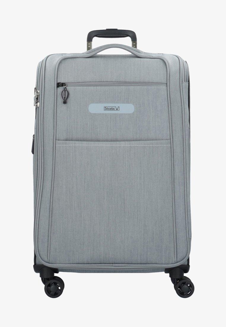 Stratic - FLOATING - Wheeled suitcase - stone grey