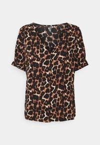 PCCARLA - Print T-shirt - brown