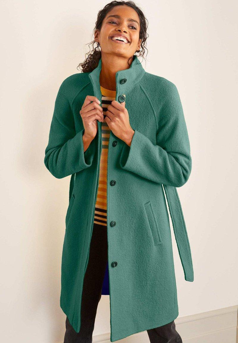 Boden - Down coat - salbeigrün