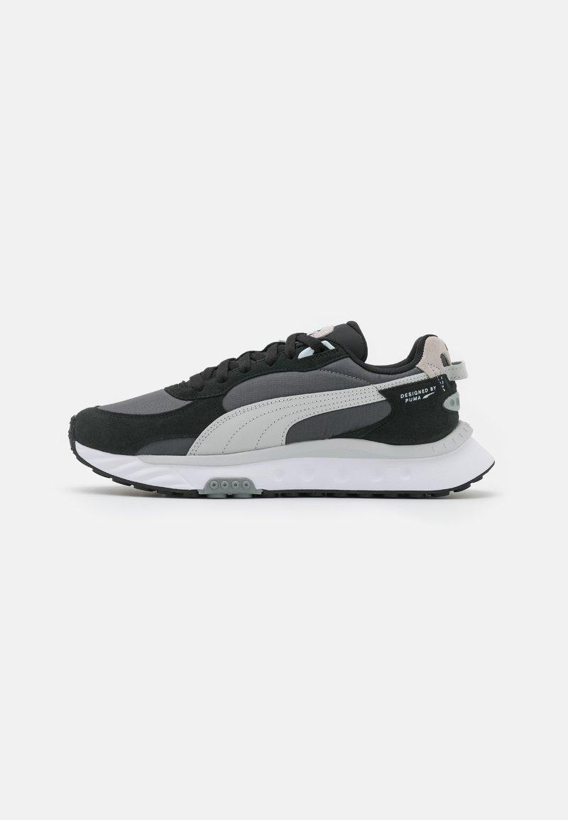 Puma - WILD RIDER ROLLIN UNISEX - Sneakers basse - black/castlerock