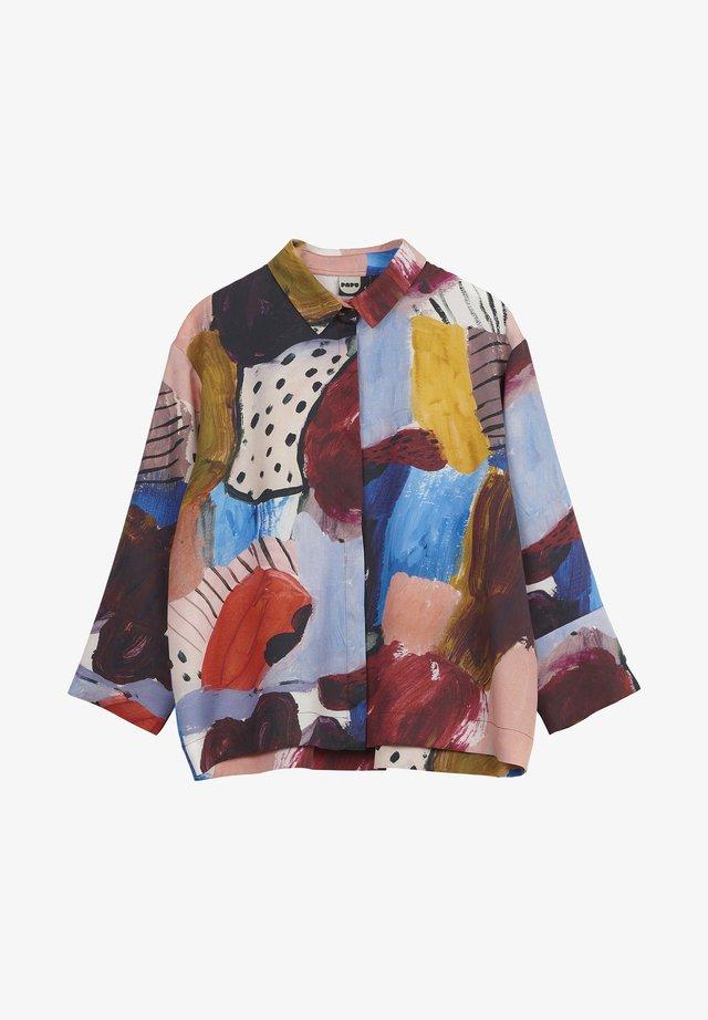BOHEME EXPRESSION - Button-down blouse - red