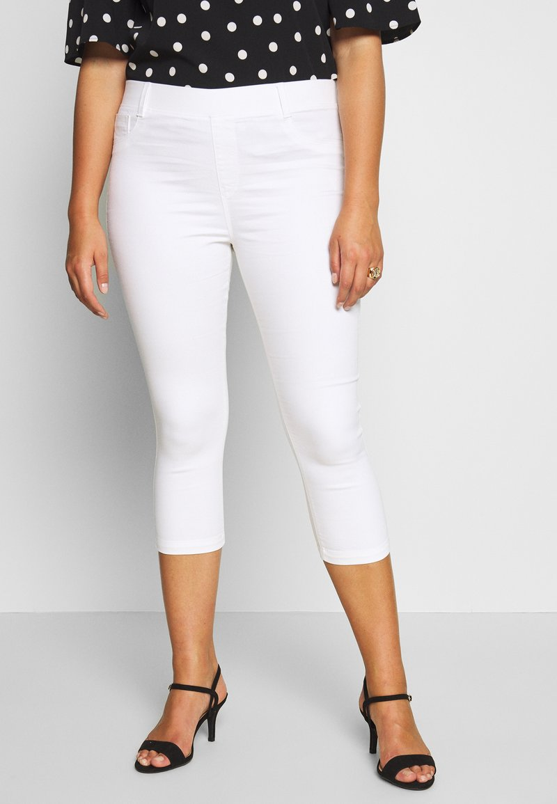 CAPSULE by Simply Be - AMBER  - Jeggings - white