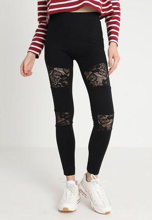 LADIES - Leggings - Trousers - black