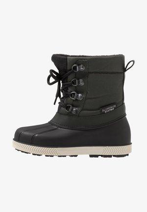 Zimní obuv - black/green