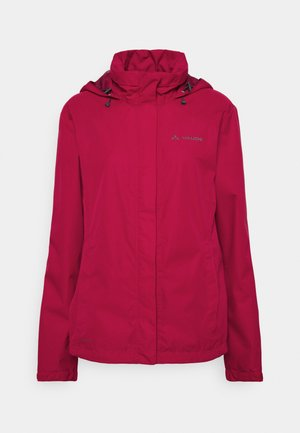 WOMENS ESCAPE BIKE LIGHT JACKET - Waterproof jacket - crimson red