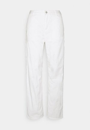 PIERCE PANT STRAIGHT - Broek - off-white