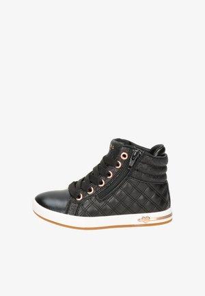 SKECHERS QUILTED SQUAD MEISJE SNEAKER - Baby shoes - zwart