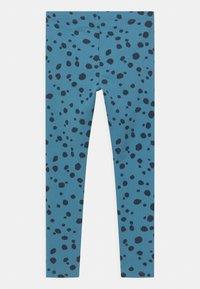 Lindex - BASIC DOTS UNISEX - Leggings - Trousers - blue - 1