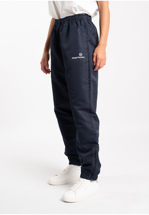 CARSON  - Tracksuit bottoms - navy/white